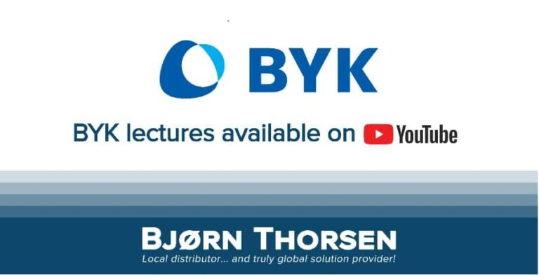 BYK Chemie lectures available on Youtube