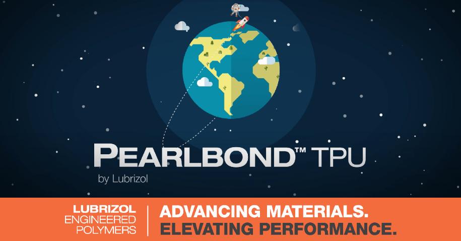Pearlbond TPU from Lubrizol Engineering Polymers for Hot Melt Adhesives (HMAs)