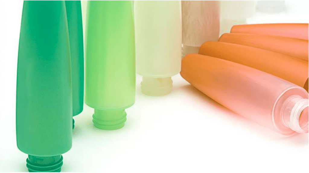 Chem-Trend technology Ultra-Purge in cosmetic packaging.