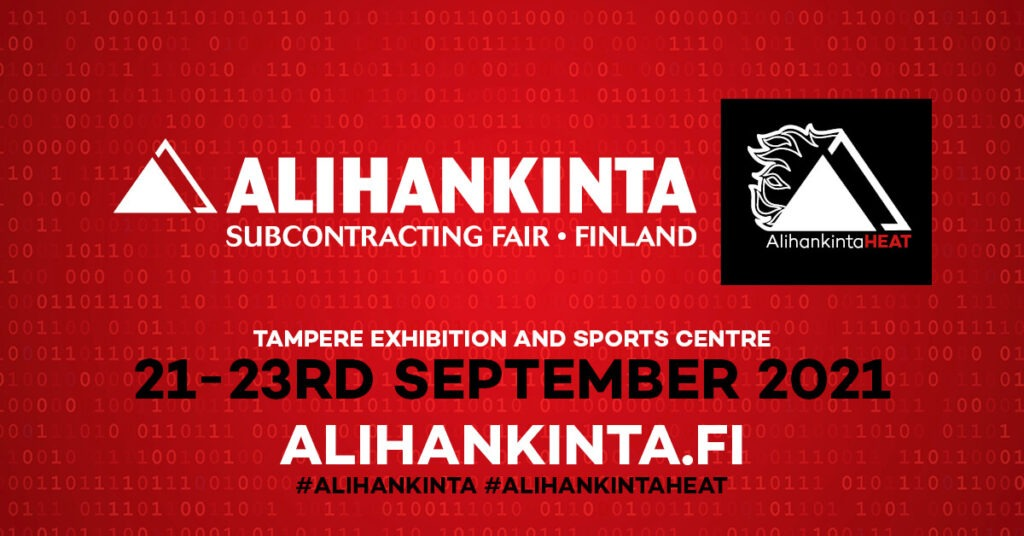 Alihankinta Subcontracting fair 2021 Finland